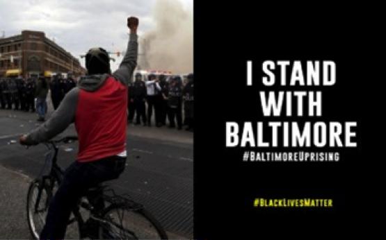 [BALTIMORE UPRISING] #BlackLivesMatter Stands with Baltimore