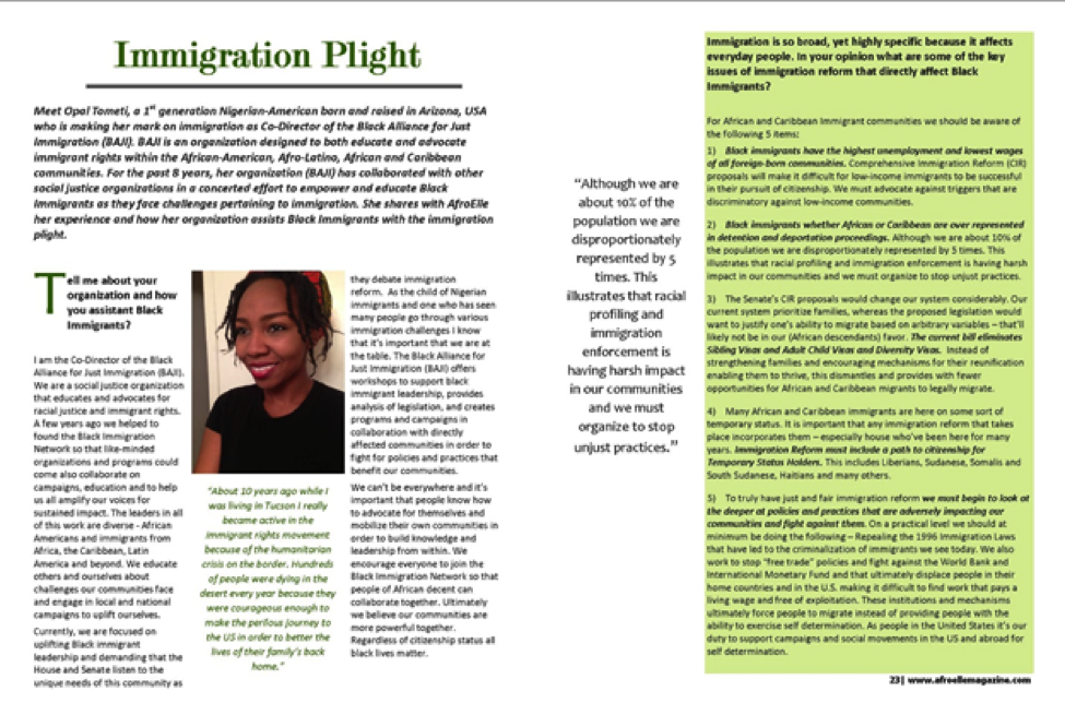Immigration Plight