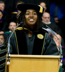 Opal Tometi Awarded Clarkson University Honorary Degree